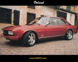 Peugeot 504 Coupe by ko3er