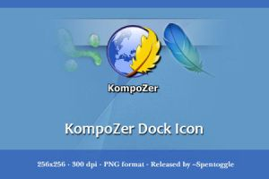 KompoZer Dock Icon by spentoggle