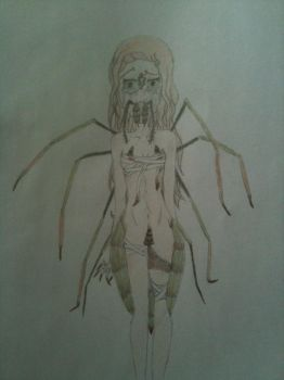 The spider inside of me by Ayeni-chan