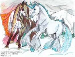 of Fire and Ice by PaintedKaffe
