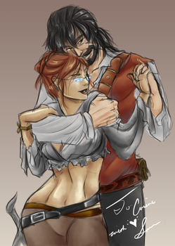 Rin and Kenny from Twitch by TheIjiness