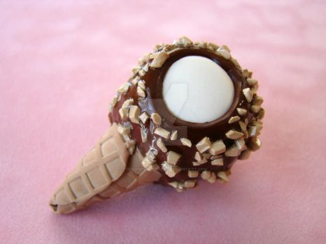 Giant drumstick pendant by strawberrywafers