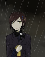 APH - In the Rain by DinoTurtle