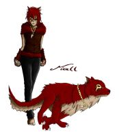 Red Wolf Niall by 19Rei-Sama