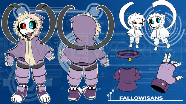 .:Commission:. Character Reference Fallow by Cyane-ei