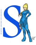 S is for Samus Aran by Inspector97