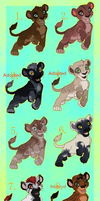 Lion Auction! CLOSED by mimmiley