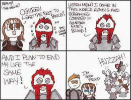 Dragon Age Origins: Inspire the Troops by DivaXenia