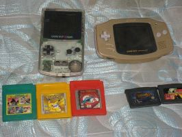 My Old Game Boy Collection by tanlisette