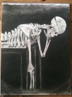 Charcoal Skeleton by Arentorea9