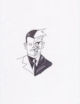 TWO-FACE by hclix