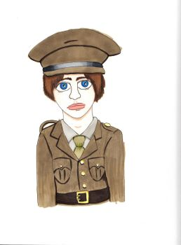 WWI Young British Boy by codder101