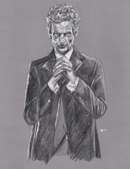 Peter Capaldi as the 12th Doctor Who by Gossamer1970
