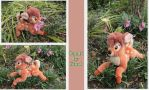 Bambi plush made by Gund by Laurel-Lion