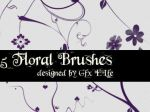 Floral Brushes by gfx-elfe