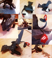 BAD photo update Toothless sculpture by valachhim