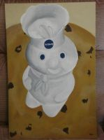 Doughboy with Cookie by purpledusk2008