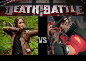 Death Battle: Katniss Everdeen vs. Lawrence Mundy by Thunderchin
