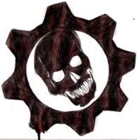 Gears of War Logo by thedeependcrossfade