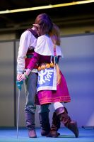 Zelda and Link from Skyward Sword 6 by memoire-hana