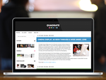 Quadrate WordPress Theme by itsmattadams
