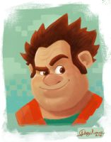 Wreck it Ralph by Sommum