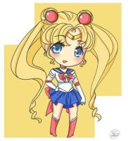 Sailor Moon Chibi by water-panda-chan