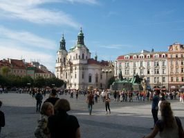 Old Town Square Prague by emy25