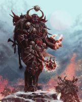 Word Bearers Chaos Space Marine by LEGION5551