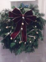 cristmas wreath by Twisted462