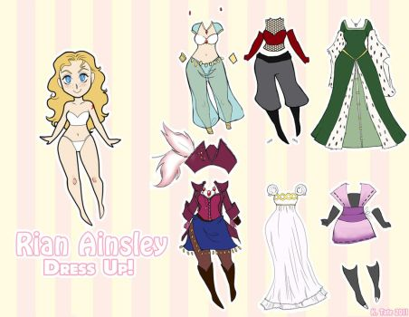 PE Paper Doll for Temiel by Kayley