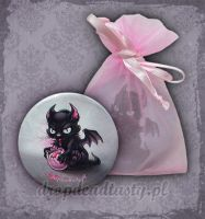 Pink Chicks Pocket Mirror by aleksandracupcake