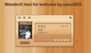 WoodenX mod for avetunes by wewe323