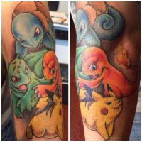 Pokemon tattoo by Daggerss