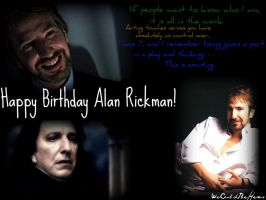 ALAN RICKMAN by WeCouldBeHeros