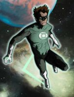 Hal Jordan by CartoonCaveman