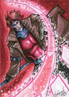 Commission: Gambit by skardash