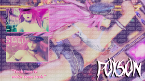 Poison Wallpaper by DikPeach92