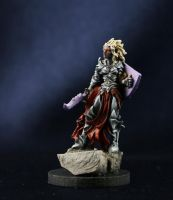 Drow Fighter by MiniatureMistress