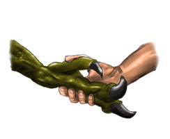 Claw to Hand by Netarliargus