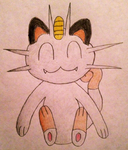 Meowth by MysteryBeliever-KJB