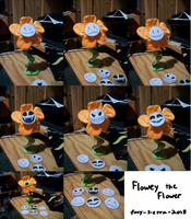 Flowey the flower cosplay prop by Foxy-Sierra