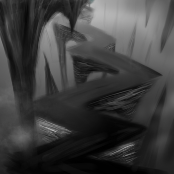 Cave path sketch by Sycreon