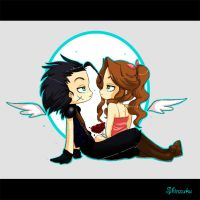 Zack X Aerith by Shiny-chan