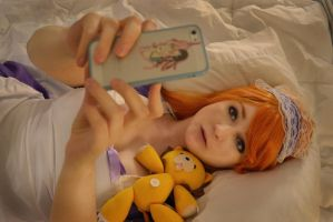 Are you taking a picture of yourself Orihime? by NovaStars