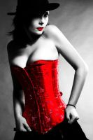 The Lady In Red by sagira87
