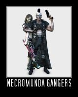 Necromundian Gangers by Howard-33