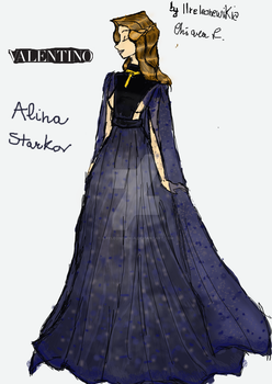 Alina Starkov whore by Valentino 2016 by ilreleonewikia