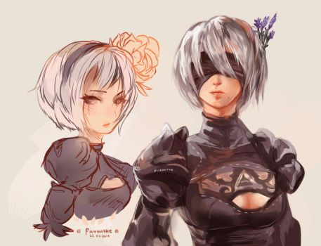 How 2B gorgeous~! by Fiveonthe
