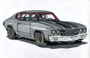 Chevrolet Chevelle SS 454 by jmig3